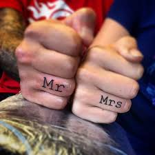 Image result for girl wedding ring tattoos