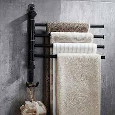 wall mounted 4 swivel arm bathroom