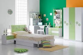 contemporary kids bedroom furniture green. Cozy White Metal Leg Modern Chair Ceramic Laminate Flooring Table Lamp Lighting Sponge Upholstred Pillow Yellow Rug Green Hardwood Painted Drawer Wardrobe Contemporary Kids Bedroom Furniture
