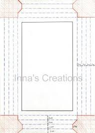Paper Frames Templates Innas Creations How To Make A Simple Paper Frame Paper