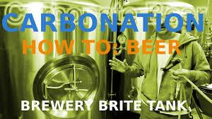 Carbonate Beer Craft Beer Brite Tank How To