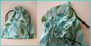 Drawstring Bag Pattern Stunning Lined Drawstring Bag Free Sewing Tutorial PatternPile Sew