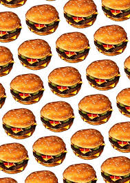cheeseburger wallpaper. Modren Cheeseburger U0027u0027Cheeseburger IIu0027u0027 Pattern By Kelly Gilleran  Art Pinterest  Pattern Wallpaper And Wallpaper To Cheeseburger L