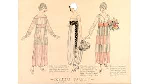 Decorate Your Own Clothes Fashion Drawing And Illustration In The 20th Century Victoria And