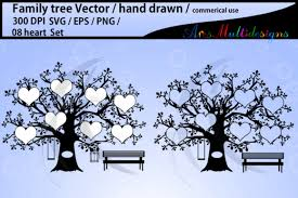 I could animate path with css keyframes, and the result is this Family Tree Clipart 08 Hearts Svg Graphic By Arcs Multidesigns Creative Fabrica