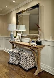 antique foyer furniture. Table In Foyer Furniture Extra Long Console Entry Traditional With  Antique Mirror