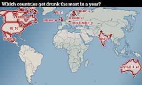 Get Drunk Not Fat Chart Uk Adults Get Drunk More Often Than Anywhere Else In The