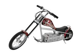 amazon com razor electric mini chopper bike red sports outdoors