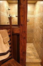 10 best RUSTIC SHOWERS images on Pinterest Rustic bathrooms