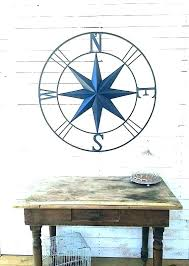 outdoor nautical wall decor fancy star compass or