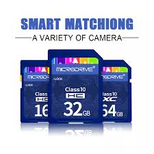 SUNY [Hàng Có Sẵn] Thẻ SD Loại 10 Thẻ Nhớ 8GB 16GB 32GB 64GB 128GB Dành Cho  Máy Ảnh Canon Nikon SLR Quay 4K Video 4.9