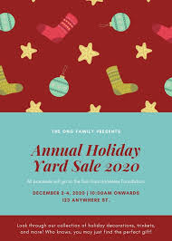 Christmas Flyer Templates Maroon And Blue Holiday Items Christmas Flyer Templates By