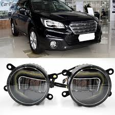 2013 Subaru Outback Fog Lights Us 58 0 20 Off 3 In 1 Functions Auto Led Drl Daytime Running Light Car Projector Fog Lamp With Yellow Signal For Subaru Outback 2013 2016 In Car