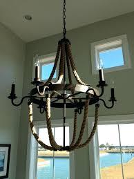 nautical chandelier nautical rope chandelier image of nautical chandelier idea nautical rope and bronze square chandelier