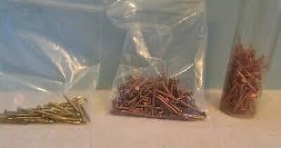 fasteners connectors copper nails