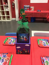 Pj Mask Party Decorations PJ Mask Inspired Centerpiece PJ Mask Party decorations PJ Mask 12