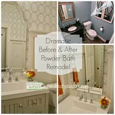 Decor You Adore Dramatic Before  AfterPowder Bath Remodel - Bathroom remodel before and after pictures