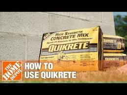 Quikrete Sand Topping Mix Coverage Chart Quikrete Concrete The Home Depot Youtube