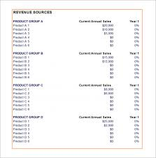 Sales Budgets Templates Sales Budget Example Laustereo Com
