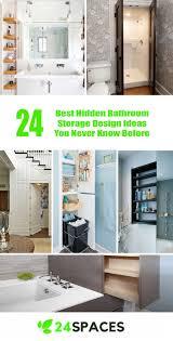 bathroom cabinet design ideas. 24 Best Hidden Bathroom Storage Design Ideas You Never Know Before \u2013 SPACES Cabinet