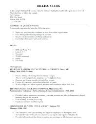 Billing Clerk Resume Simple Title Clerk Resume Examples With Accounts Payable Clerk Resume To