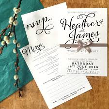 save the date cards com bold text wedding stationery range