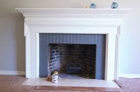 can you paint tile around fireplace round designs