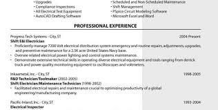 Sample 4 Journeyman Electrician Resume Sample Electrician Resume ...