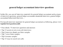 general ledger accountant interview questions In this file, you can ref  interview materials for general ...
