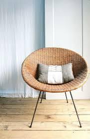 Mid Century Modern Wicker EBay Mid Century Rattan Chair