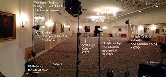princeton club ballroom lit by existing fixtures with my lights in place new york