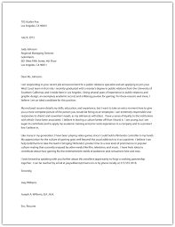 Statement Of Purpose Cover Letter Cover Letter