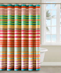 Horizontal Striped Shower Curtains  PBandU