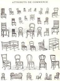 different styles of chairs. drawings of different types chairs styles foter