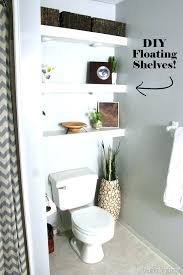 diy bathroom shelf unit bathroom shelves behind toilet floating shelves in bathroom above toilet reality daydream