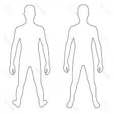 Human Body Outline Vector Lamaison