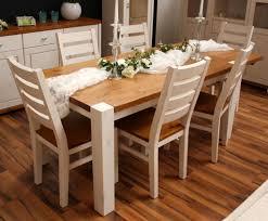 Esstisch Weiß Holz Ausziehbar