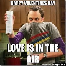 i hate valentine s day meme. Modren Hate Sheldon Valentineu0027s Day Meme Love Is In The Air  Inside I Hate Valentine S Day Meme Velvet And Vibranium