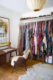 how to organize a small bedroom without closet