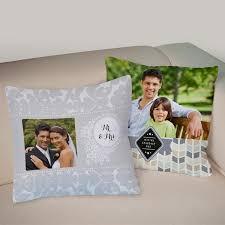custom printed throw pillow photo