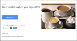 Therefore, to obtain a discount coupon, you can use the generic coupon code: Free Napkins When You Buy Coffee The Most Ridiculous Coupon Ever