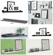 floating wall mounted shelf storage