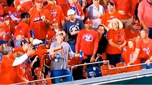Bud Light Present Real Men Of Genius Commercials Dude Takes Baseball Hit Rather Than Spill Beer Video