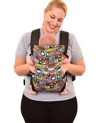 KidsEmbrace DC Comics Justice League Chibi Elite Baby Carrier   zulily
