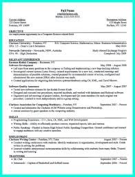Science Resume Examples 16 Example For A Governmentlaw Scientific