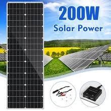 Buy <b>solar panel</b> 200w and get <b>free shipping</b> on AliExpress