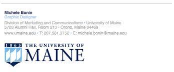Email Signature Email Signature Branding Toolbox University Of Maine