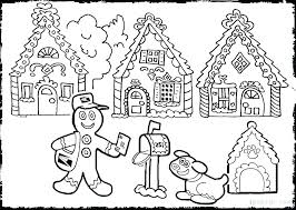 Gingerbread Girl Coloring Pages Gingerbread Coloring Pages Coloring