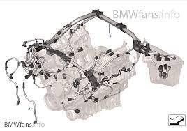 engine wiring harness engine module bmw x e x m s usa engine wiring harness engine module