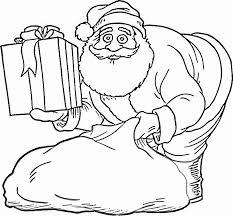 Small Picture Kids Under 7 Santa Claus Coloring Pages